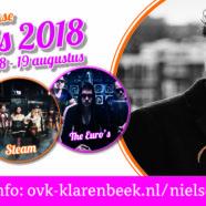 Line-up Klarenbeekse Kermis 2018 bekend!